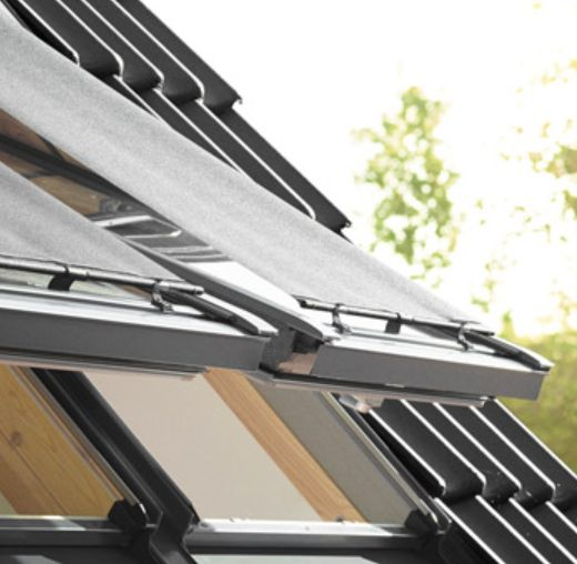 Velux päikesevari vähendab katuseaknast sissetulevat kuumust kuni 76%!