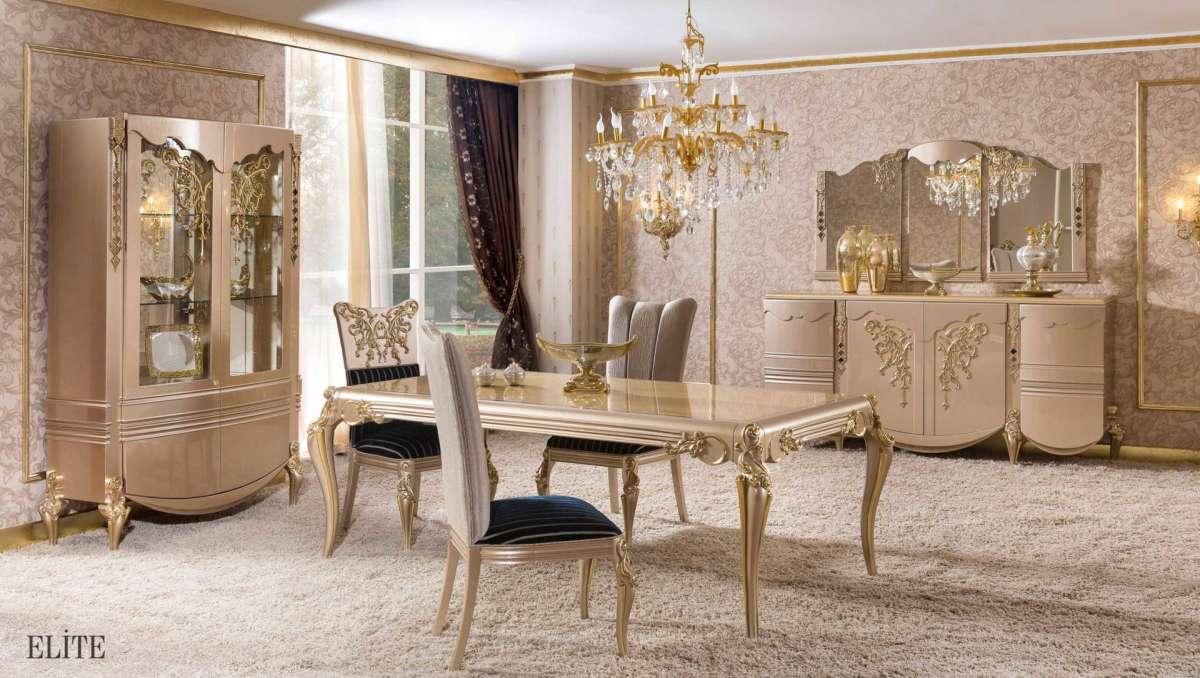 Eksklusiivse, luksusliku ning dekoorirohke mööbel Türgist