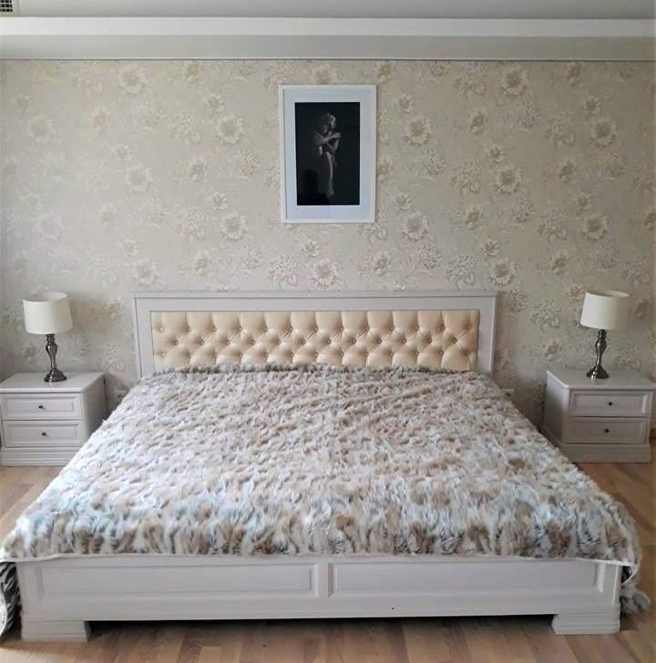 Foto: Unoliki mööbliga sisustatud magamistuba. Boston voodi ja öökapid. Unoliki kliendi Kristiina kodu.