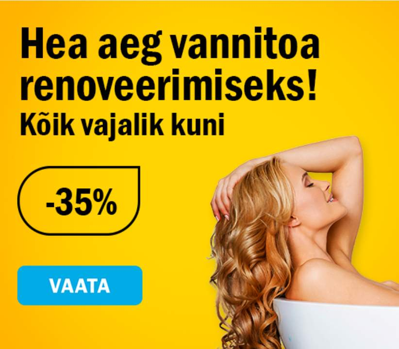 K-rautas VANNITOAKAUBAD -35%