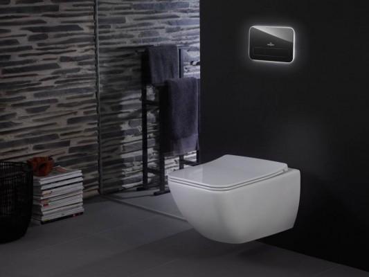 Pilt 3 - Valgustusega WC-poti loputusnupp