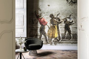 Pilt 7 - Ajatu maalikunst fototapeedina seina - Elitis Panoramique
