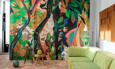 Pilt 3 - Ajatu maalikunst fototapeedina seina - Elitis Panoramique