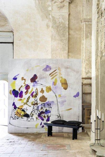 Pilt 37 - Ajatu maalikunst fototapeedina seina - Elitis Panoramique