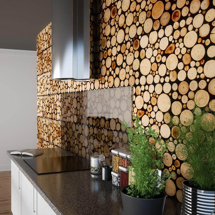 Kadakaplaadist seinapaneel köögi tagaseinas