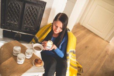 Pilt 3 - Sügis-talvisel hommikul pole midagi ilusamat kui täita tuba küünlavalgusega ja nautida hommikukohvi.