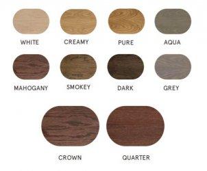 Groveneer puitkleebise värvivalik