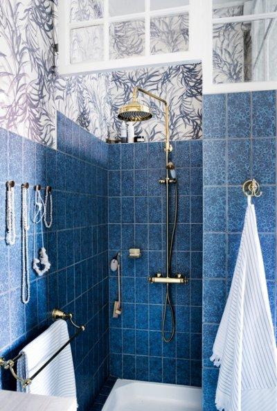 Pilt 2 - Damixa Tradition uuenduslik klassikalise disainiga poleeritud messingist dushikomplekt, millel on kõik kaasaegse dushi võimalused.
