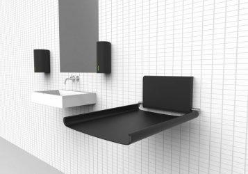 Pilt 2 - Dan Dryer Taps on uus ja elegantne seeria, mis sisaldab võimsat kätekuivatit, seebidosaatorit ja segistit.