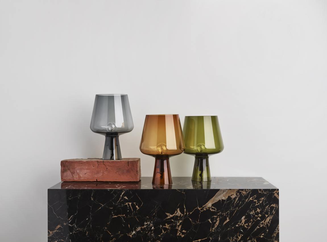 Klaasist Leimu lamp