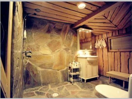 Alati isikupärane - loodukivist vannituba