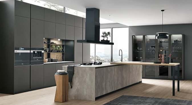 Modernne köögimööbel Itaalia juhtivalt tootjalt Stosa Cucine.