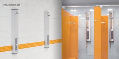Pilt 2 - Veesäästu dušipaneel PRESTO - Prestotem 2 avalikku ruumi