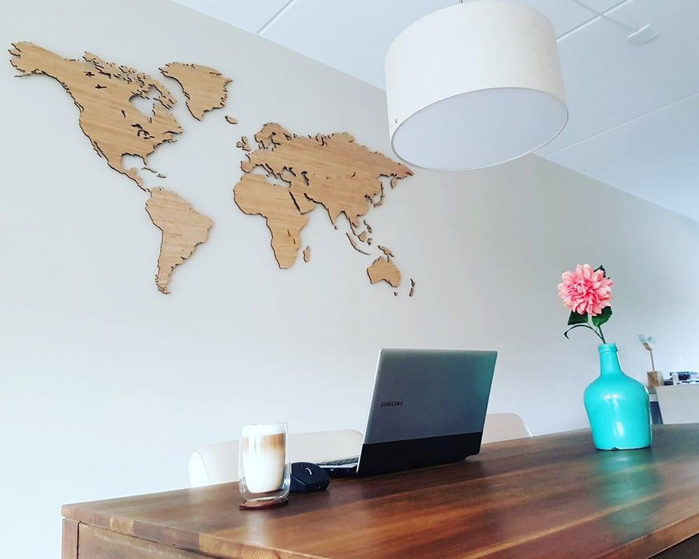 Hea lahendus kontori või töötoa seinale! Vahetevahel reisidele mõtlemine aitab meeleolu hoida!