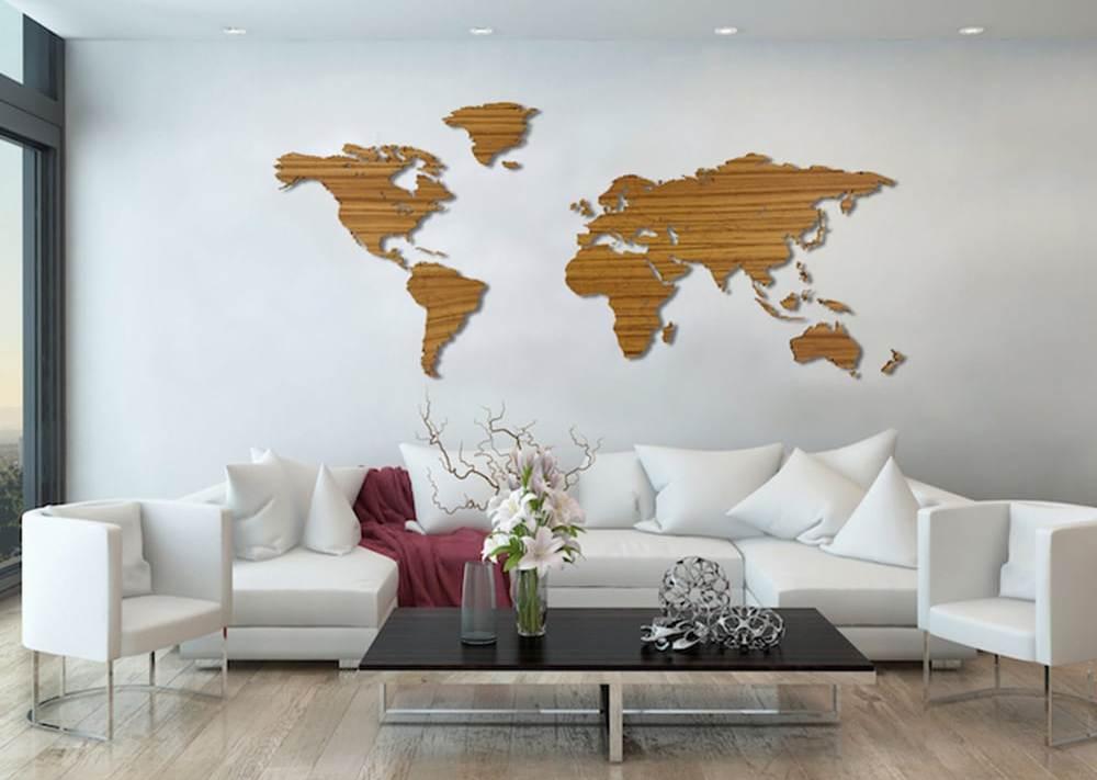 Puidust maakaart - mõnus ajaviide endale ja originaalne kingiidee partnerfirmale