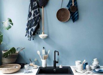 Pilt 3 - Matt must segisti on modernselt minimalislik ja loob oma tumeda olemusega täiusliku kontrasti vannituppa ja kööki.