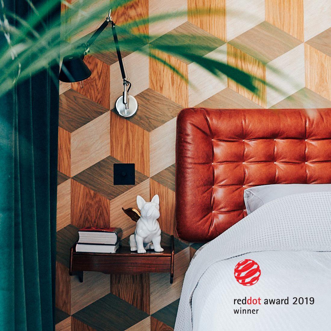 Pilt2-Eestis loodud naturaalsest puidust iseliimuv seinakattematerjal Groveneer võitis disainiauhinna Red Dot 2019