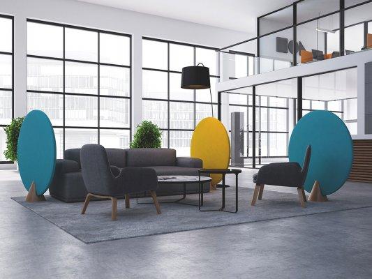 Pilt 3 - Teisaldatavad-rullitavad seinad ja tahvlid muudavad kiirelt ruumi paigutust ning selle eesmärki.