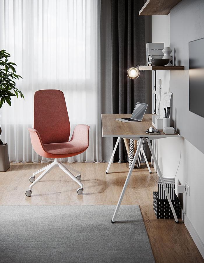Lai valik kangaid, jalgu ja värve teeb toolide igasse interjööri sobitamise lihtsaks.