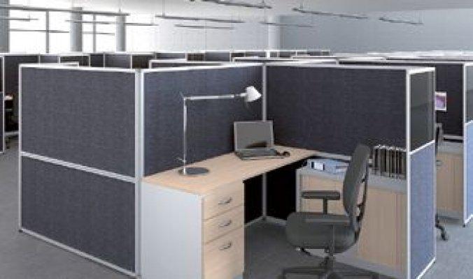 Pilt 3 - Avatud kontori töötsoon
