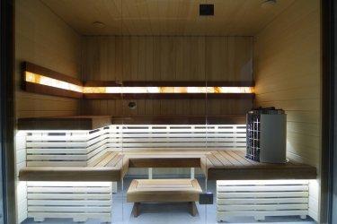 24 - Sauna building