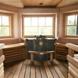 17 - Sauna building