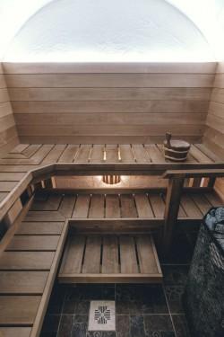 6 - Revonial energiasäästlikud võlvhooned: koobassaun, maakelder, suveköök