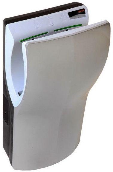 See kätekuivati on väga kiire (10–15 sekundit), vaikne (öko-seades ainult 65 dB), keskkonnasõbralik.