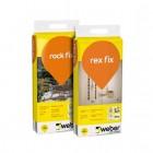 Tippklassi plaatimissegud Weber Rex Fix ja Rock Fix