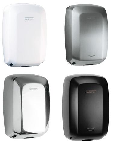 Efektiivsed avaliku wc kätekuivatid (Sensoriga Mediclinics Machflow® 325km/h)