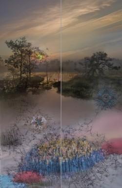 Pilt 2 - Tekstiilikunstnik Ilme Rätsep jäädvustab unikaalsed loodusmaalid kangastele