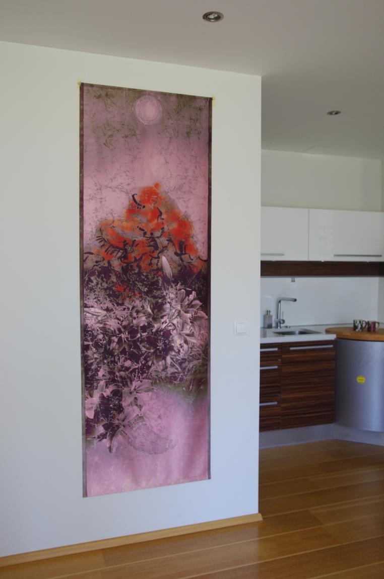 Tekstiilikunstnik Ilme Rätsep jäädvustab unikaalsed loodusmaalid kangastele