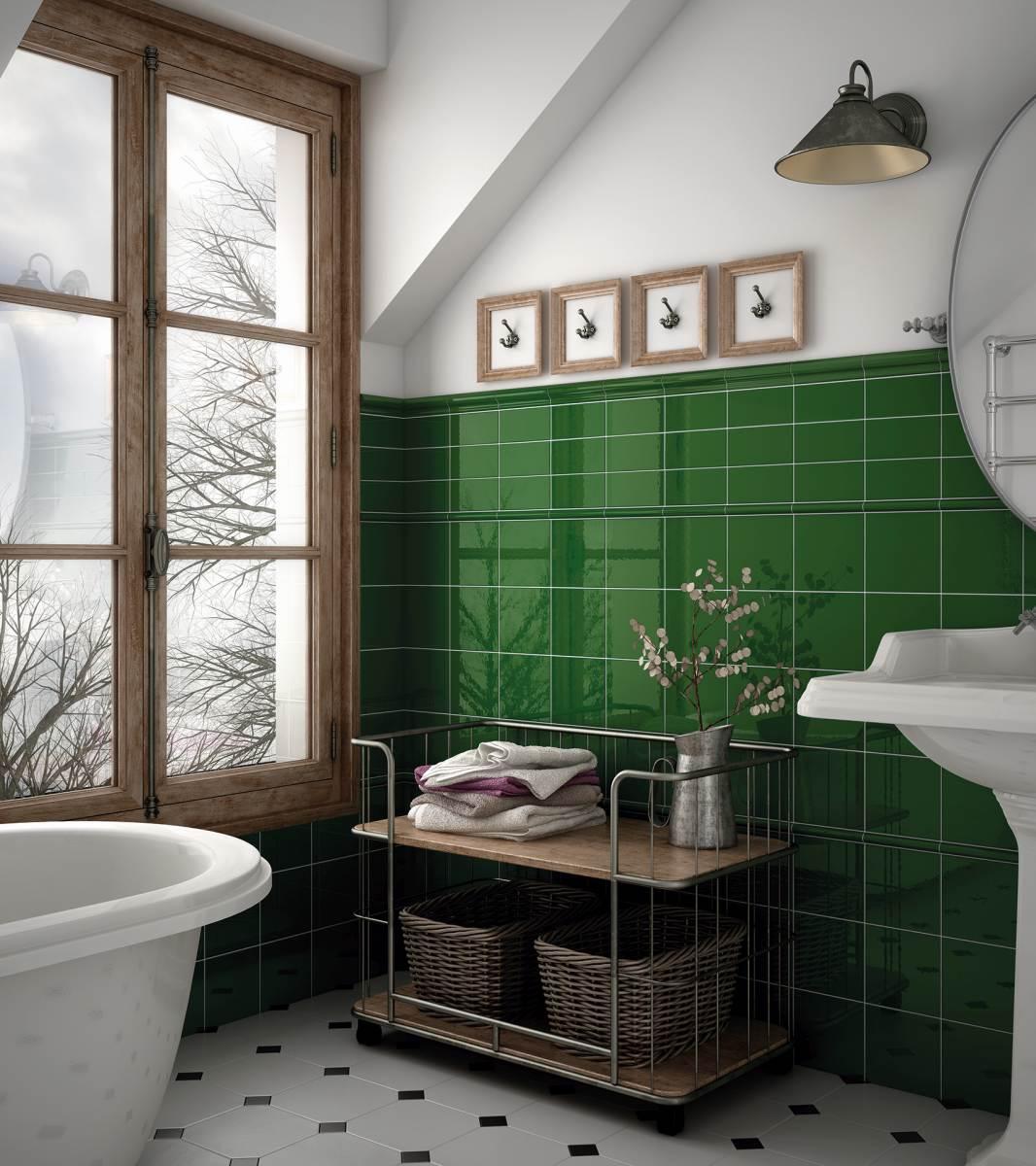 Evolution Victorian green bath