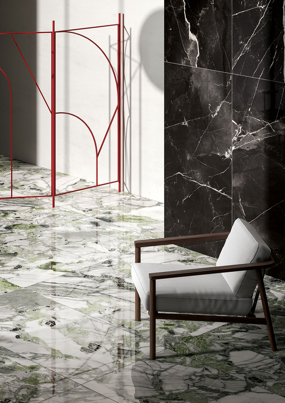 Piastrelle effetto marmo Ceramica Fioranese Sound of Marbles