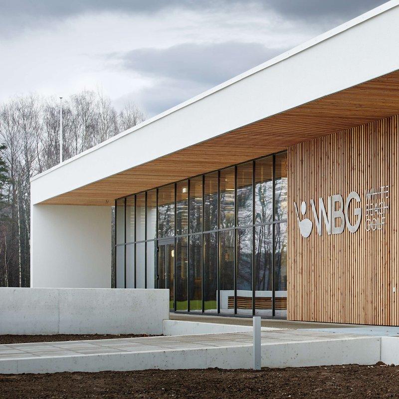 Pärnu golfiklubi peamaja ehitati ECOTERM+ plokkidest