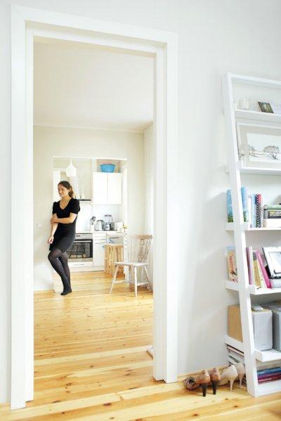 Pilt 2 - Puhastatud ja uuesti lakitud puitpõrandad.