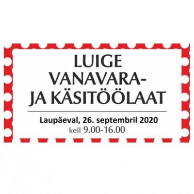 Luige vanavara- ja käsitöölaat 26.09.2020