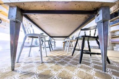 Maroko Duo šabloon betoonpõrandal - 4