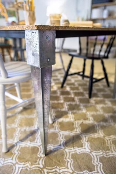 Põranda värvimine šablooniga – isikupärane ja vastupidav! - 5
