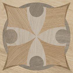 Pilt 4 - Intarsiatehnikatest inspireeritud keraamiliste plaatide kollektsioon
