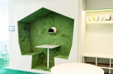 38 - Galerii - Telia büroohoone rajamisel lähtuti kõige uusimatest trendidest