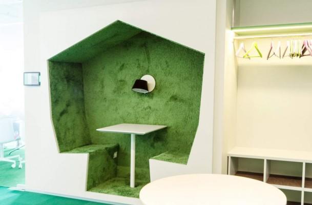 Pilt 28 - Galerii - Telia büroohoone rajamisel lähtuti kõige uusimatest trendidest