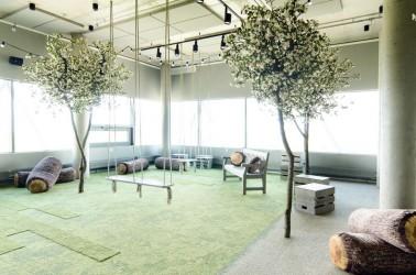 28 - Galerii - Telia büroohoone rajamisel lähtuti kõige uusimatest trendidest