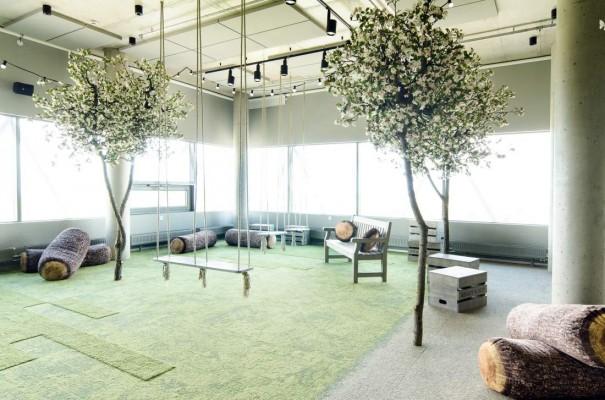 Pilt 6 - Galerii - Telia büroohoone rajamisel lähtuti kõige uusimatest trendidest