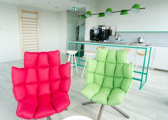 Pilt 9 - Galerii - Telia büroohoone rajamisel lähtuti kõige uusimatest trendidest