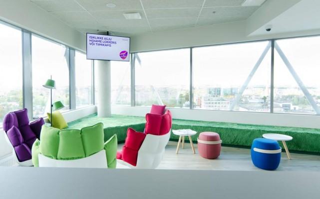 Pilt 10 - Galerii - Telia büroohoone rajamisel lähtuti kõige uusimatest trendidest