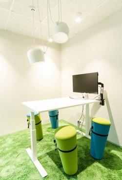 6 - Galerii - Telia büroohoone rajamisel lähtuti kõige uusimatest trendidest