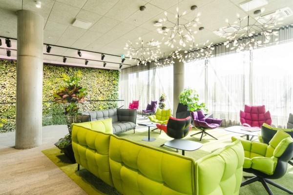 Pilt 24 - Galerii - Telia büroohoone rajamisel lähtuti kõige uusimatest trendidest