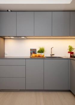 Pilt 5 - Köögikappide materjal on Egger PerfectSence Matt U732 Dust Grey