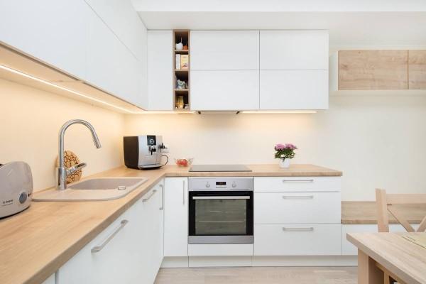 Pilt 14 - Egger PerfectSence Matt W1100 Alpine White - Mööblimasina köögimööbel